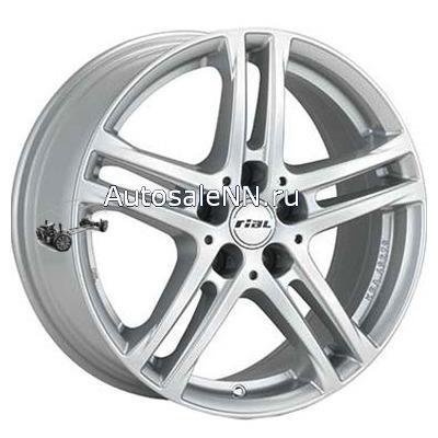 6,5x16/5x112 ET53 D66,5 Bavaro Polar Silver